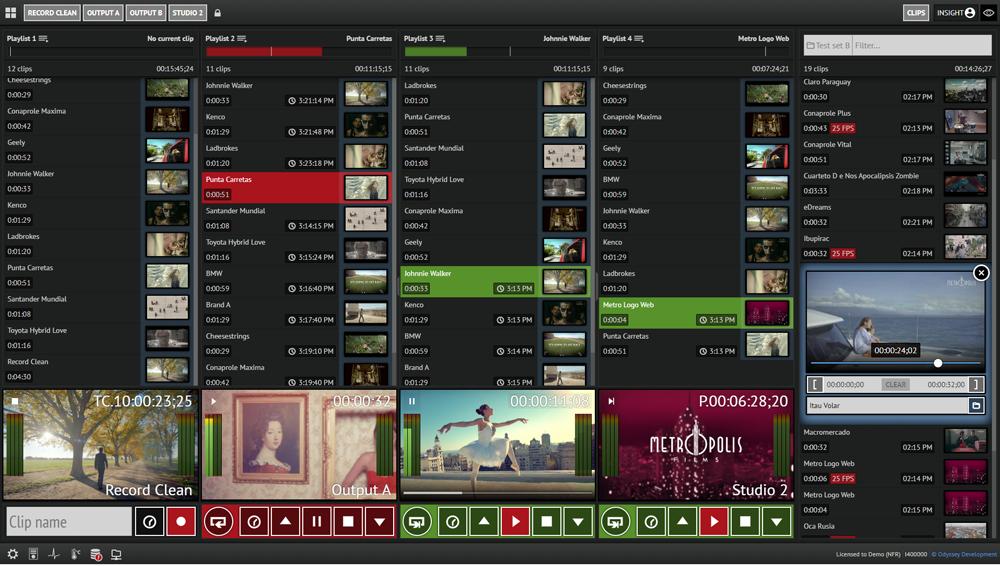 Insight video server