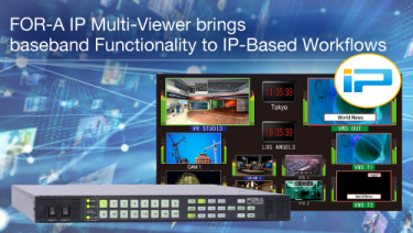 FOR-A IP multi viewer
