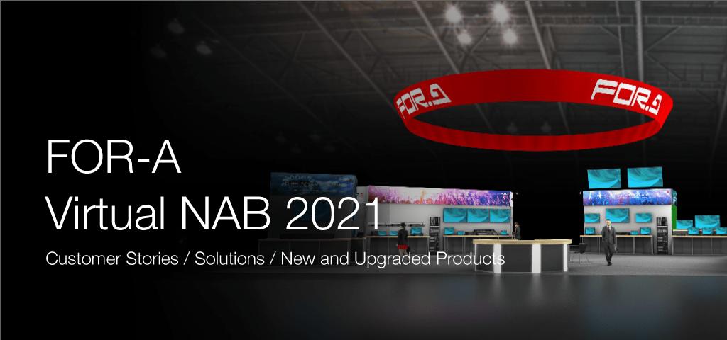 FOR-A Virtual NAB 2021