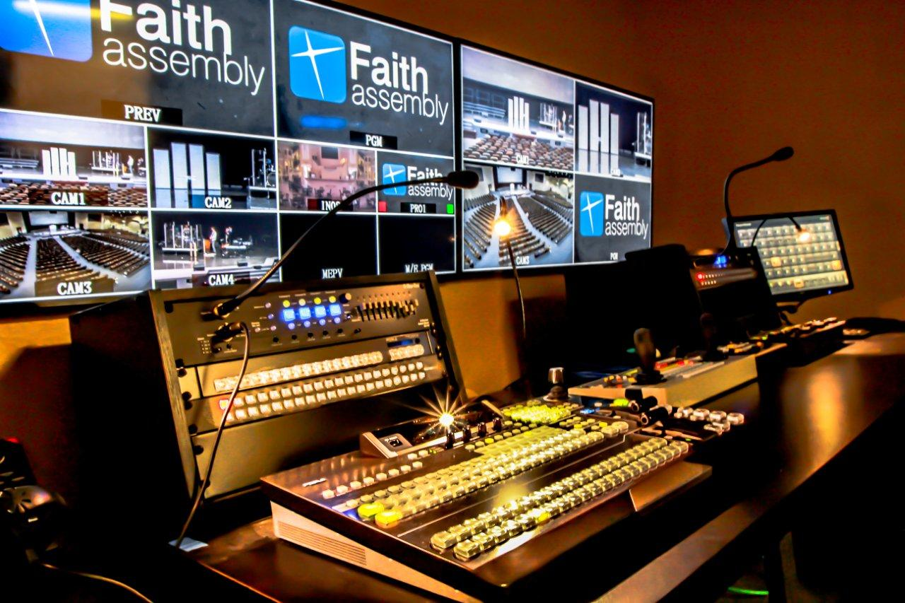 Faith Assembly Of God Installs For A S Hvs 350hs Video